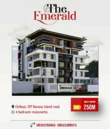4 bedroom Massionette House for sale . Mojisola Onikoyi Estate Ikoyi Lagos