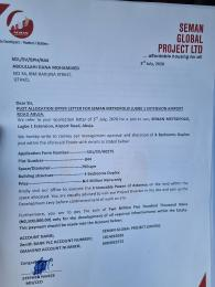Residential Land Land for sale Semen Metropoli Estate Shared Fence With River Park Estate Airport Road Abuja Lugbe Abuja