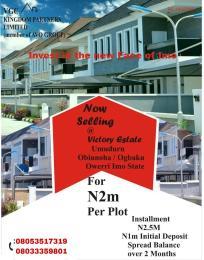 Residential Land Land for sale Umuduru, Obinnoha/Ogbaku Owerri Imo