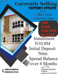 Residential Land Land for sale Ifite Awka South Anambra