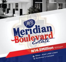 Residential Land Land for sale Meridian Boulevard Okun Ajah Ajah Lagos