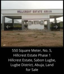 Residential Land for sale Hillcrest Estate Lugbe Abuja