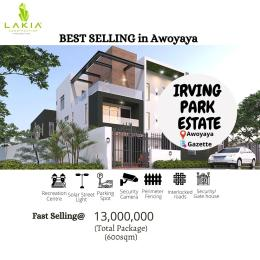 Residential Land Land for sale 2 Minutes From The Popular Mayfair Gardens Awoyaya Ajah Lagos