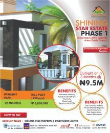 Land for sale Opposite Amen Estate phase 2 Eluju Ibeju-Lekki Lagos