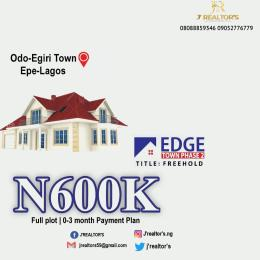 Residential Land Land for sale Epe road Lagos Epe Road Epe Lagos