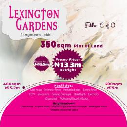 Residential Land Land for sale Lexington Gardens Monastery road Sangotedo Lagos