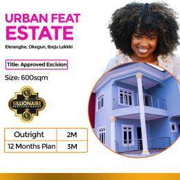Residential Land Land for sale Urban Feat Estate Eleranigbe Ibeju-Lekki Lagos