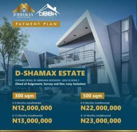Residential Land Land for sale D-Shamax, By Abraham Adesanya Ogombo Ajah Lagos