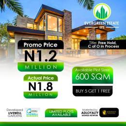 Land for sale Odo Egiri, Epe, Epe Lagos