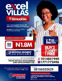 Serviced Residential Land Land for sale Umuahia North Abia