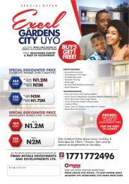 Land for sale Ibiaku Obio Ndobo, Okpoto, Uruan Uyo Akwa Ibom