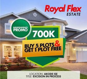 Residential Land Land for sale  Royalflex estate Phase 3 is on a tarred road. It is located 1 minute after La campagne Tropicana resort along the Lekki Free Trade Zone Express road axis, Ibeju Lekki. Akodo Ise Ibeju-Lekki Lagos
