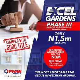 Serviced Residential Land Land for sale  Behind pan Atlantic University Free Trade Zone Ibeju-Lekki Lagos