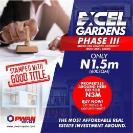 Serviced Residential Land Land for sale Behind Pan Atlantic University  Ibeju lekki Ibeju-Lekki Lagos