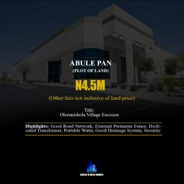 Land for sale Abule Pan Eluju Ibeju-Lekki Lagos