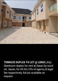 4 bedroom Semi Detached Duplex House for rent ilasan Ilasan Lekki Lagos