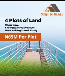 Mixed   Use Land Land for sale Chevron Alternative off Lekki Epe Express chevron Lekki Lagos