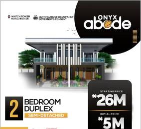 2 bedroom Semi Detached Duplex House for sale Onyx Abode Along Watch Tower Road Bogije. Ajah Lagos