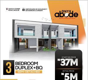 3 bedroom Semi Detached Duplex House for sale Onyx Abode Along Watch Tower Road Bogije Ibeju-Lekki Lagos
