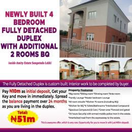 6 bedroom Detached Duplex House for sale Sangotedo Lagos