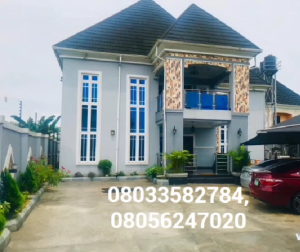 4 bedroom Detached Duplex House for sale Shell cooperative Port Harcourt Rivers
