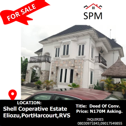 6 bedroom Detached Duplex House for sale Shell Co-operative Estate Eliozu,PHC, Eliozu Port Harcourt Rivers