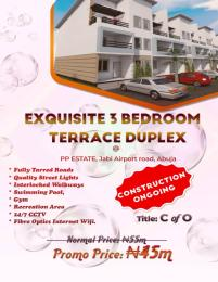 3 bedroom Terraced Duplex House for sale Airport road  Jabi Abuja
