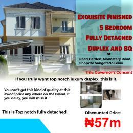 6 bedroom Detached Duplex House for sale Behind Africa biggest shoprite sangotedo Sangotedo Ajah Lagos