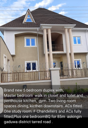 5 bedroom Detached Duplex House for sale Close to gaduwa Estate Gaduwa Abuja