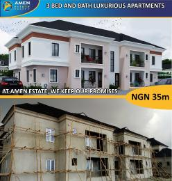3 bedroom Self Contain Flat / Apartment for sale Eleko Beach Road off Lekki Epe Express road. Ibeju Lekki Axis, Lagos Eleko Ibeju-Lekki Lagos