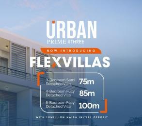 5 bedroom Detached Duplex House for sale Flexvilla, A Blend Of Duplexes. Ogombo Ajah Lagos