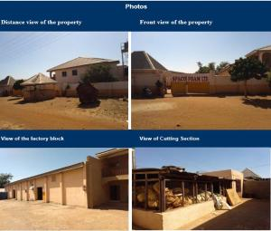Factory Commercial Property for sale FACTORY LOCATED AT KANTIN DAJI AREA, OFF SOKOTO FURNITURE ROAD, SOKOTO NORTH LOCAL GOVERNMENT AREA, SOKOTO STATE. Sokoto North Sokoto
