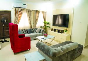 2 bedroom Penthouse for shortlet 3 Olasumbo Taiwo Street Osapa london Lekki Lagos
