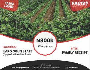 Commercial Land Land for sale Ilaro Yewa South Yewa Ogun
