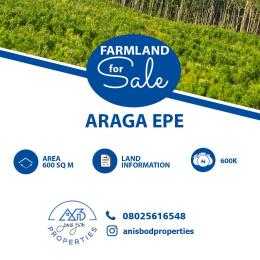 Commercial Land Land for sale Araga Epe Road Epe Lagos