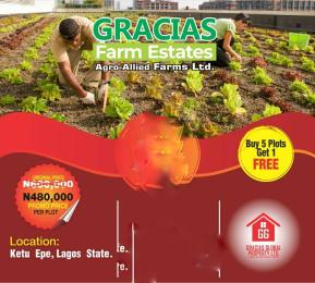 Commercial Land Land for sale Gracia Agro Allied Farm Land Is Located At Ketu  Epe Lagos Nigeria Epe Road Epe Lagos