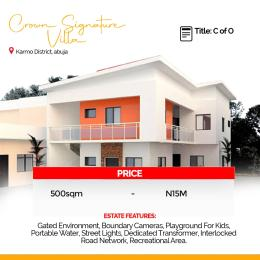 Serviced Residential Land Land for sale Opposite NDIC Quarters, Karmo District,Abuja Karmo Abuja