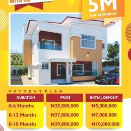 3 bedroom Detached Duplex House for sale Felicity Gardens Estate, by Otedola Estate Odoshiwola Eredo Epe, Lagos Epe Lagos