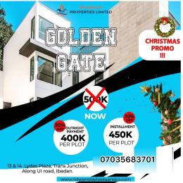Residential Land Land for sale FENCED GOLDEN GATE ESTATE (AKINYELE LOCAL GOVERNMENT) Akinyele Oyo