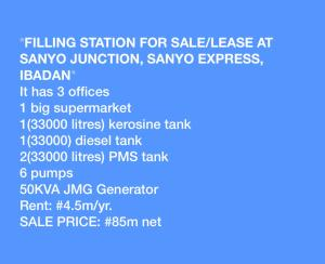 Commercial Property for sale Sanyo Express Ibadan Oyo