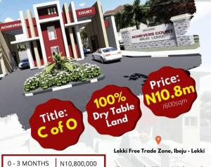 Land for sale Oshoroko Village Just 5 Mins Drive From Dangote Refinery Ibeju-Lekki Lagos