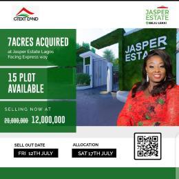 Land for sale Jasper Estate Ibeju-Lekki Lagos