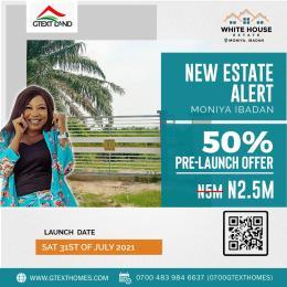 Land for sale Whitehouse Estate Ibadan Oyo