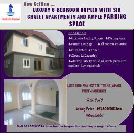 6 bedroom Detached Duplex House for sale Trans Amadi Port Harcourt Rivers