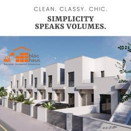 Terraced Bungalow House for sale Eleko Beach Road, less than 1 minute drive off Lekki Epe Expressway .  Eleko Ibeju-Lekki Lagos