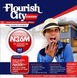 Residential Land Land for sale 15 DRIVE FROM CONTROL OGBAKU Owerri Imo