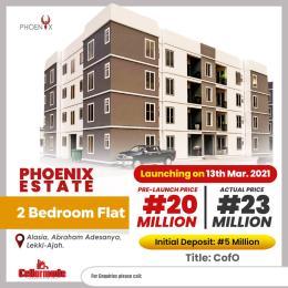 2 bedroom Flat / Apartment for sale Alasia Abraham adesanya estate Ajah Lagos