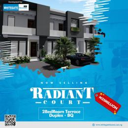 2 bedroom Terraced Duplex for sale Radiant Court Alatise Ibeju-Lekki Lagos
