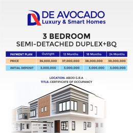 3 bedroom Semi Detached Duplex House for sale Abijo Gra  Lekki Lagos