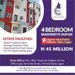4 bedroom Massionette for sale Makoko Yaba Lagos Sabo Yaba Lagos